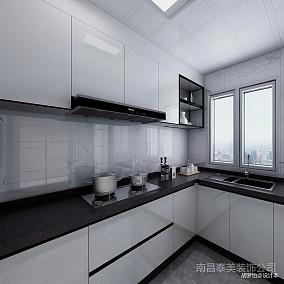 现代简约三居101-120m²厨房
