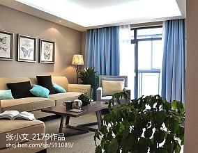 109平现代客厅装修设计效果图