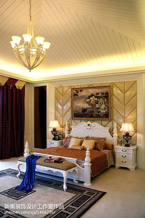 113平别墅卧室装修设计效果图