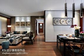 客厅新古典装修实景图片欣赏