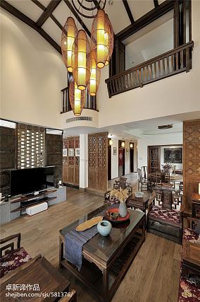 112平别墅客厅装修设计效果图