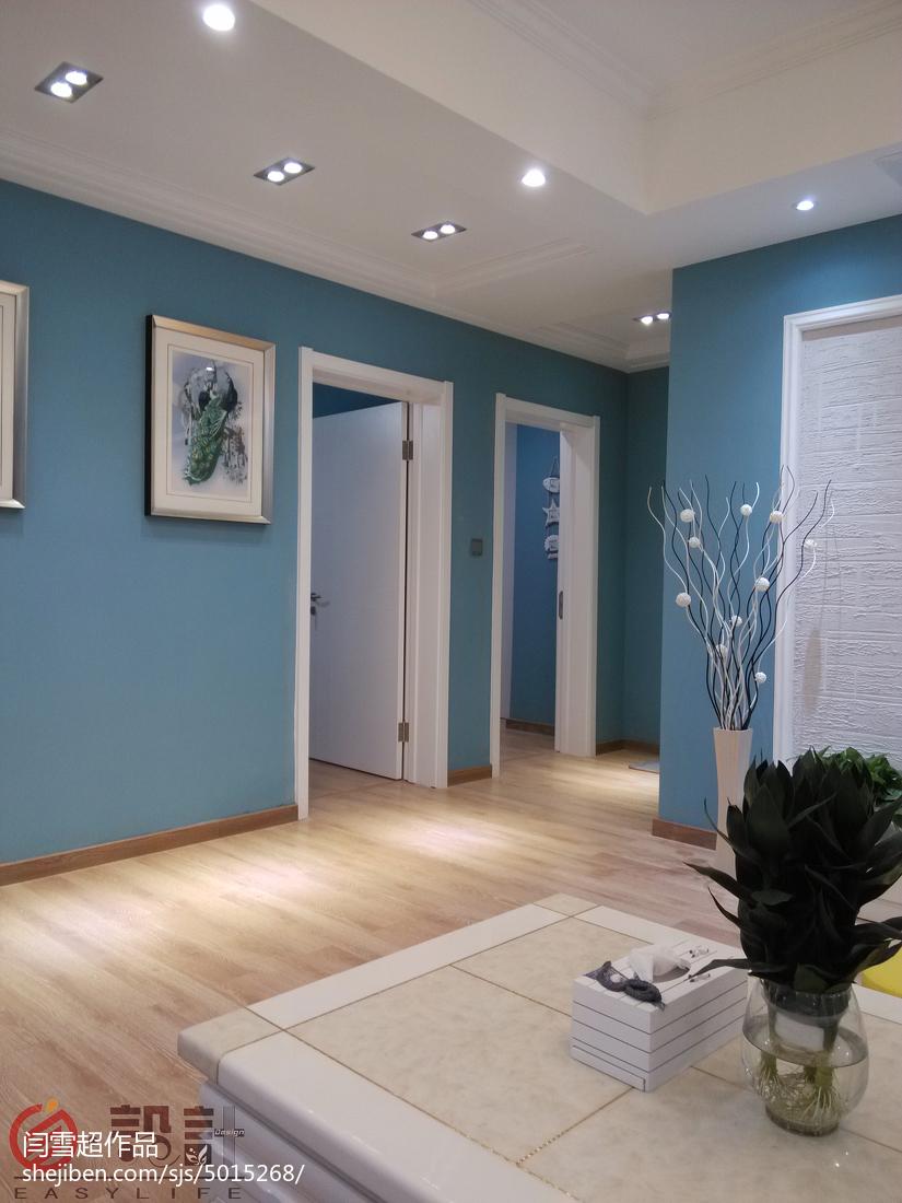 2021精选96平米三居客厅地中海装修实景图片欣赏展示