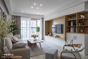大气142平中式三居客厅设计案例