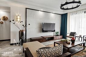 明亮137平中式四居装饰图片