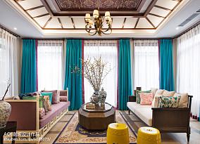 精美别墅客厅东南亚装修设计效果