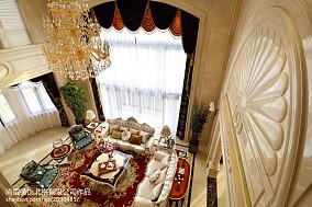 精选面积144平别墅客厅欧式装饰图