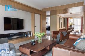 精选面积90平北欧三居客厅欣赏图