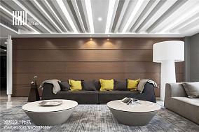 精美面积133平现代四居客厅效果图