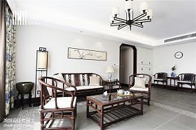 精美中式三居客厅装修欣赏图