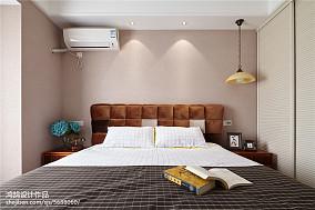 2020精选面积98平美式三居卧室装饰