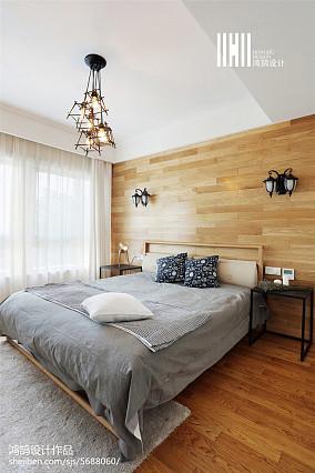 精美大小92平北欧三居卧室装修图
