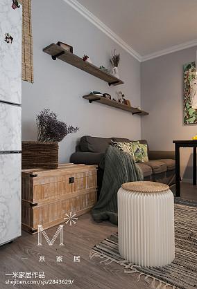 79平北欧小户型客厅效果图