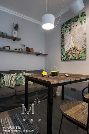89平米北欧小户型客厅装修实景图
