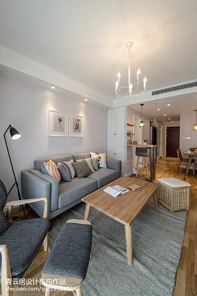 日式三居客厅装修设计效果图