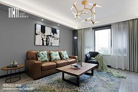苏州圣都装饰怎么样?苏州圣都推荐的2020精选面积95平简约三居客厅装修效果图片