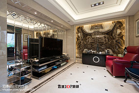 140平别墅客厅新古典效果图片