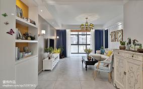 热门120平美式客厅实景图