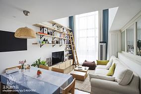 2021精选面积123平复式客厅日式装