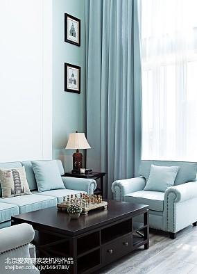 2020 91平方三居客厅欧式装修图