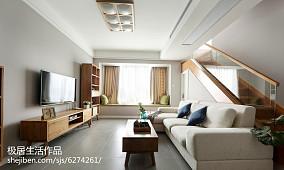热门109平米三居客厅日式欣赏图片