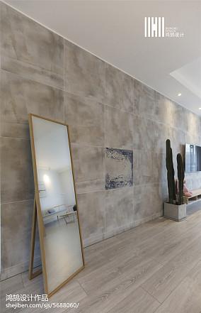 93平米三居客厅简欧装修欣赏图片