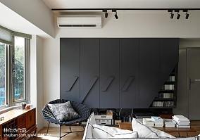 精美106平米三居客厅日式装修设计