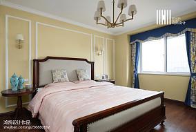2020精选面积109平美式三居卧室装