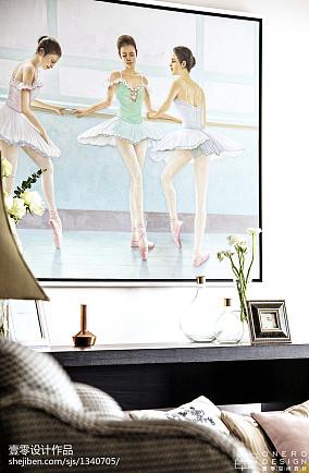 123平四居客厅装修实景图