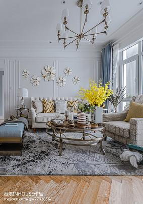 欧式豪华客厅装修效果图片欣赏