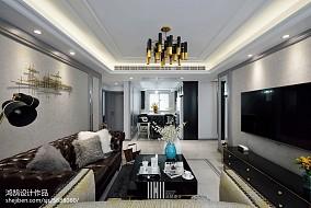 精选面积104平现代三居客厅装饰图