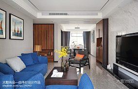 96平简约客厅装修设计效果图
