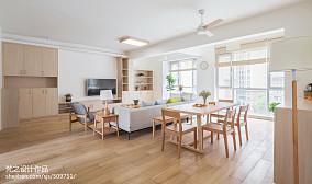 精美三居客厅日式装修欣赏图片大