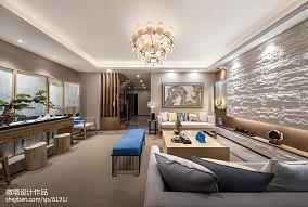 2020中式客厅装修实景图片大全