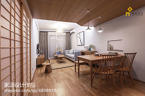 28万87㎡日式家装装修效果图