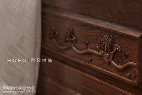 精美东南亚复式客厅装饰图