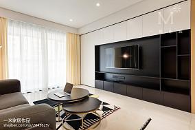 2020精选大小100平现代三居客厅效