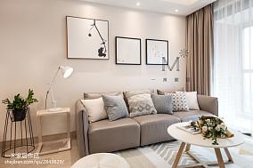 三居客厅日式风格装修欣赏图