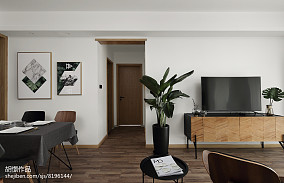 热门小户型客厅北欧装饰图片大全