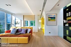 123平别墅休闲区现代风格实景图