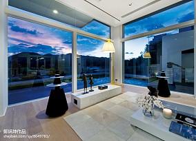 2021面积143平别墅客厅现代实景图