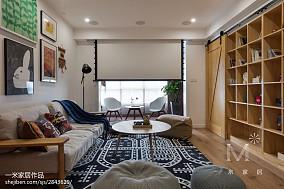 101平方日式三居客厅装饰图片