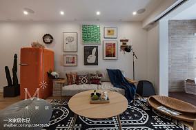 日式风格三居客厅装修实景图