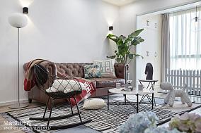 87平小户型客厅装修设计效果图