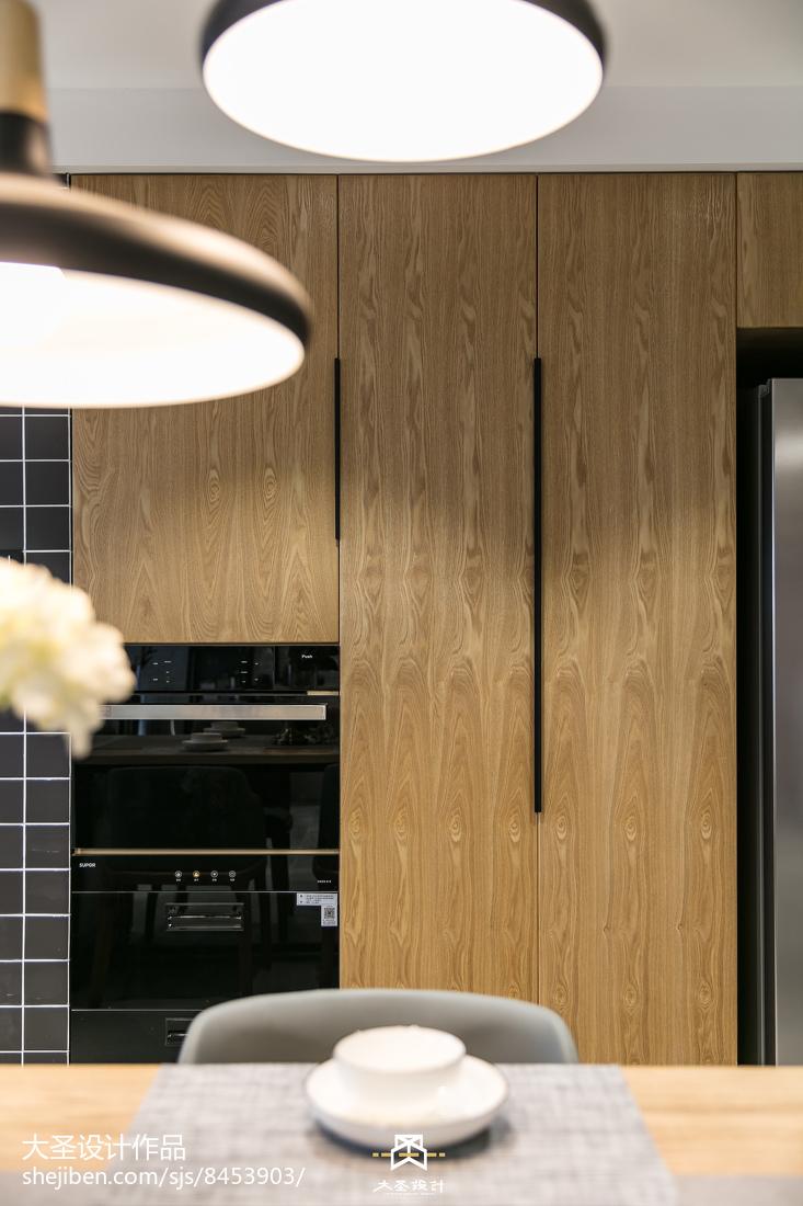 105平北欧风格三居客厅装修设计效果图展示