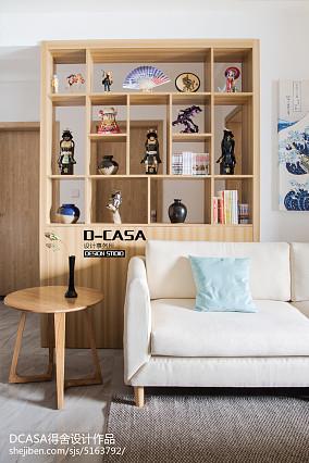 2020日式二居客厅装修实景图片