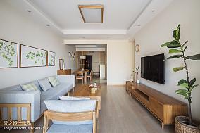 2021面积95平中式三居客厅装修实景