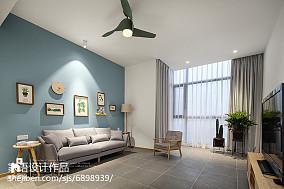 2021复式客厅北欧装修欣赏图片大