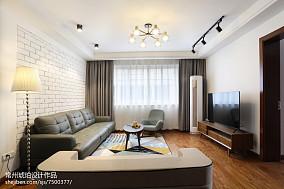 2021面积120平混搭四居客厅装修效