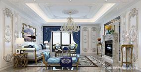 130平别墅客厅装修设计效果图