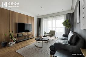 质朴112平北欧三居客厅装修图